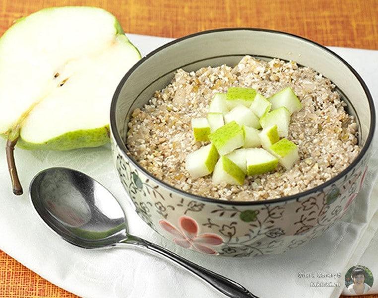 Диета завтрак гречка с