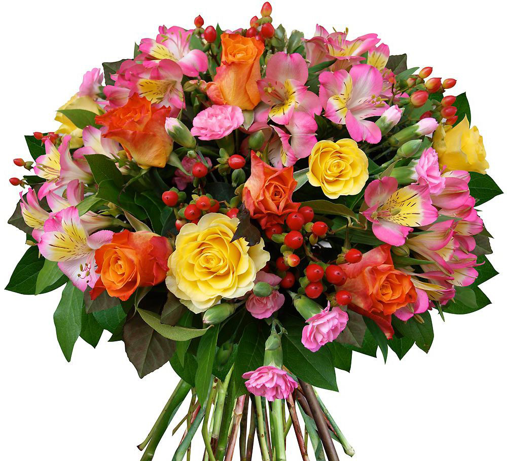 Картинки цветы поздравительные