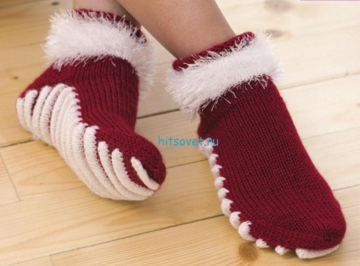 Вязаные носки своими руками фото 889