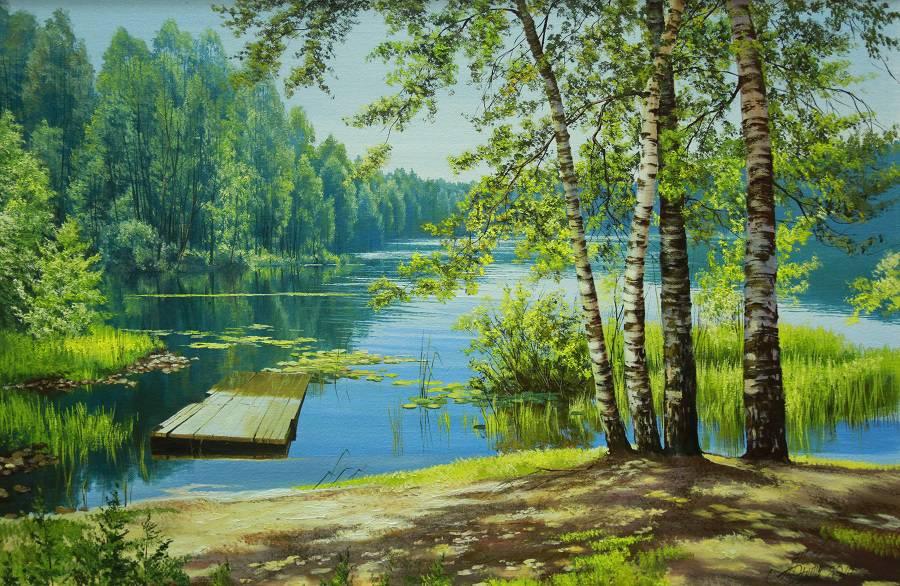 Русская природа в картинках