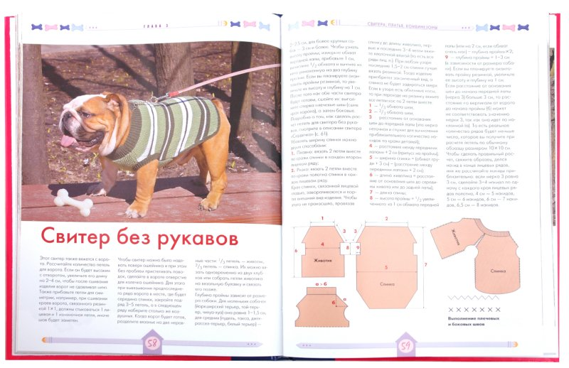 вязаная одежда для маленьких собак схемы вязание для собак постила