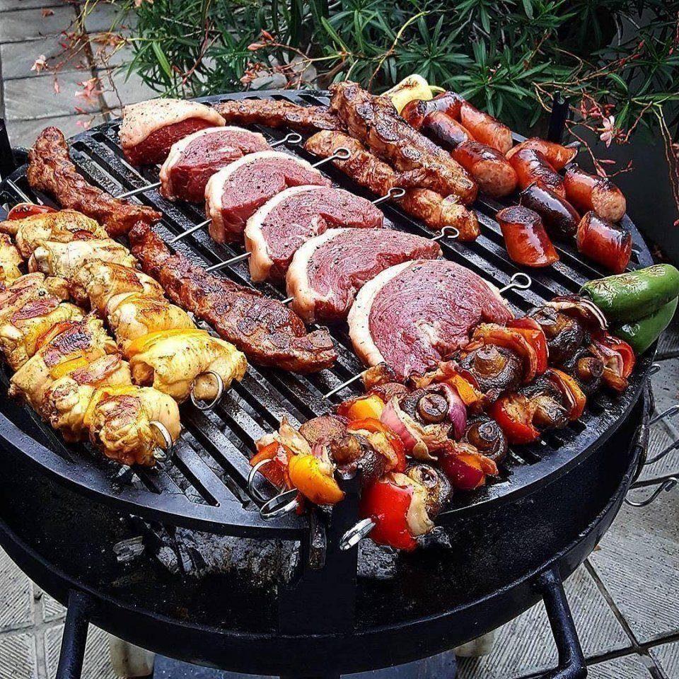 историей приготовление блюд на барбекю фото этом