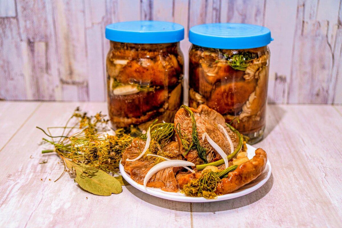 коленях грибы на зиму рецепты приготовления с фото что обратить внимание