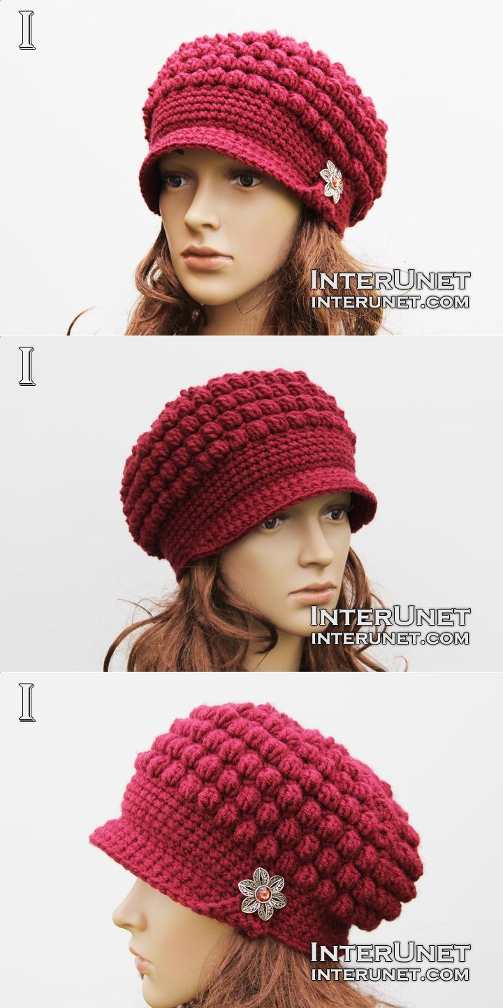 Hat crochet pattern  4e8d6658587