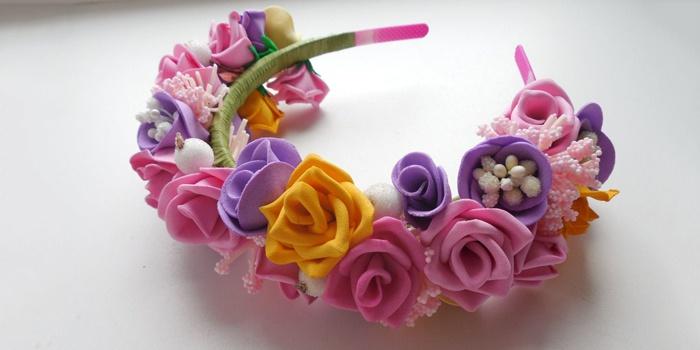 8144fe713eb7 Цветы из фоамирана мастер-класс | Фоамиран | Постила