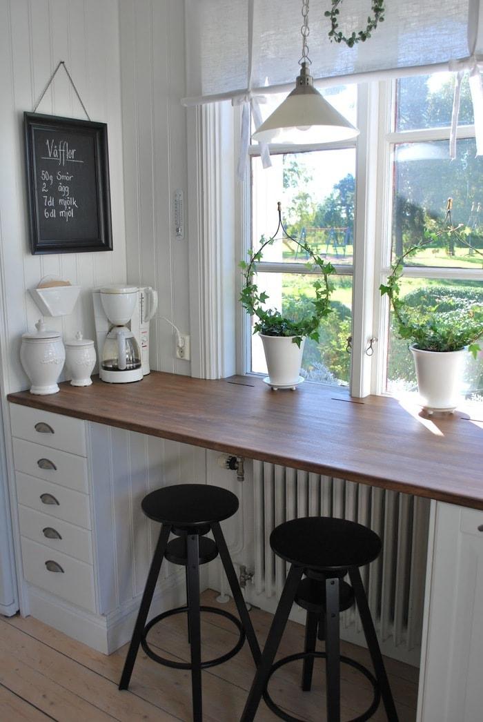 комбайна представляет подоконник стол на кухне фото передача гаджетах