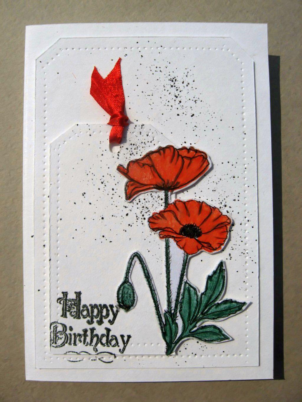 Картинки, открытки с маками своими руками