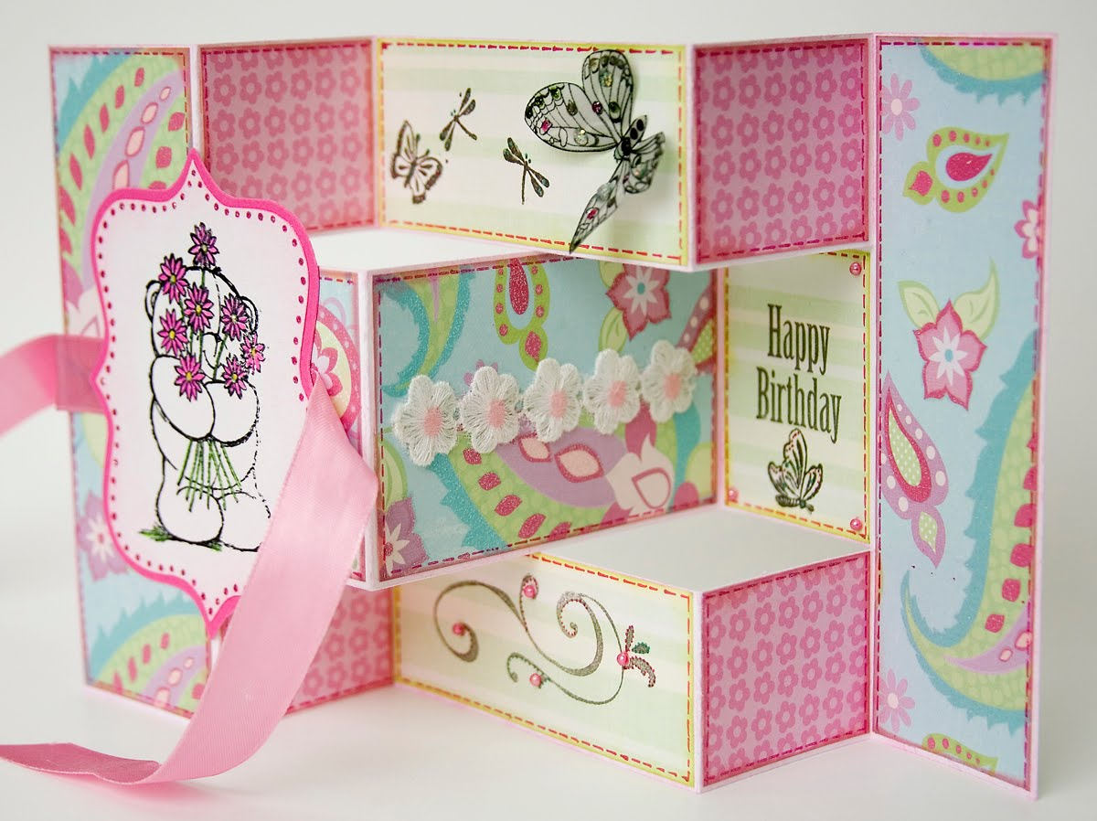 Открытки раскладные на день рождения, картинки