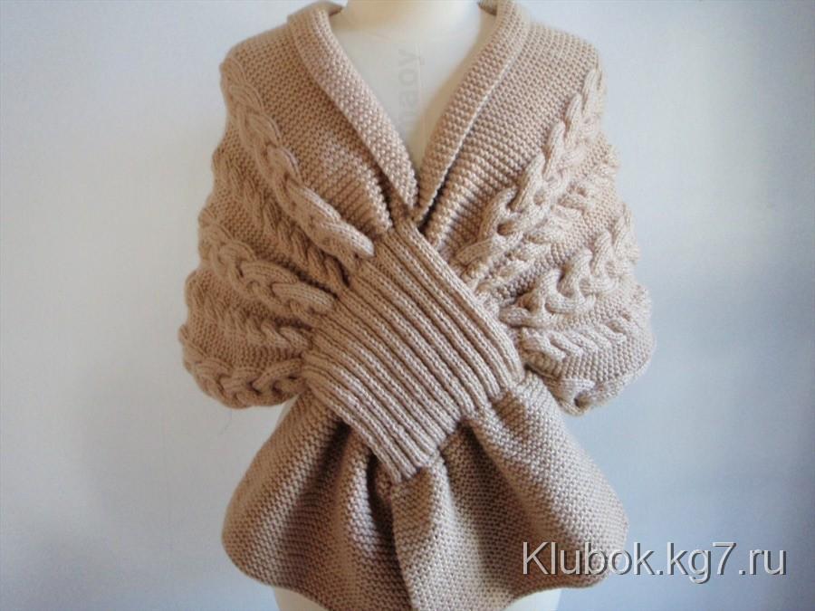 Оригинальные шарфы своими руками вязаные фото 963