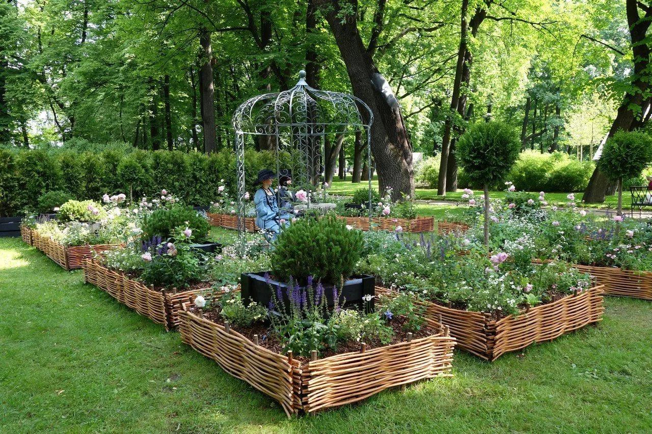 думает, картинки оформить огород сад часто время