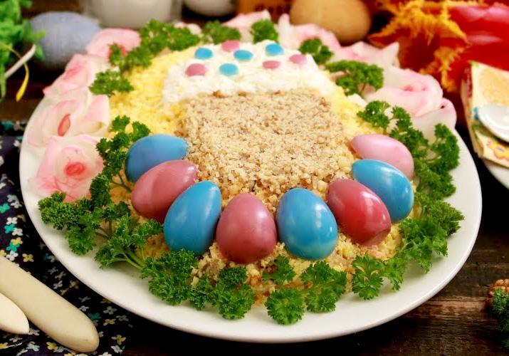 салаты на пасху рецепты с фото пошагово качестве поздравления днем