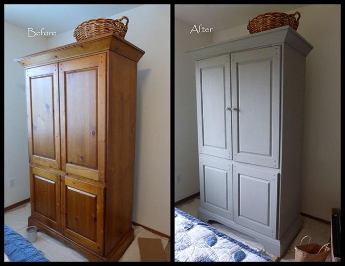 Декорирование старой мебели своими руками фото для продовольственных