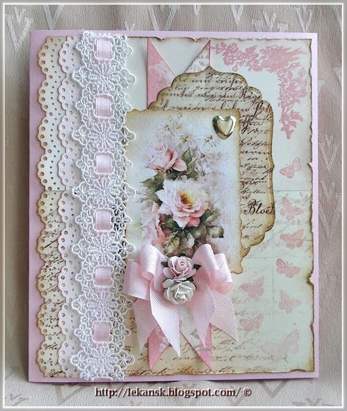 Делать цветы, открытки с днем рождения женщине скрапбукинг в стиле шебби шик