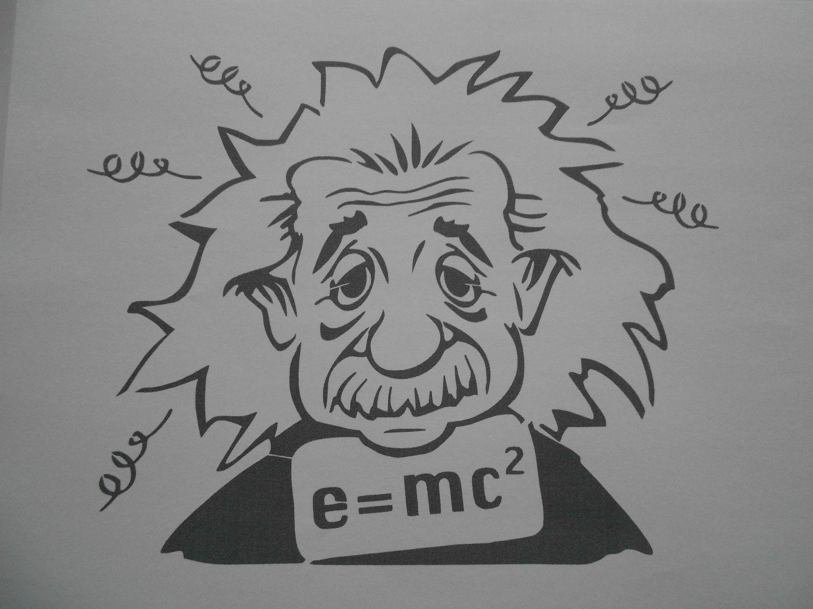 Schablone Einstein1 auf A4