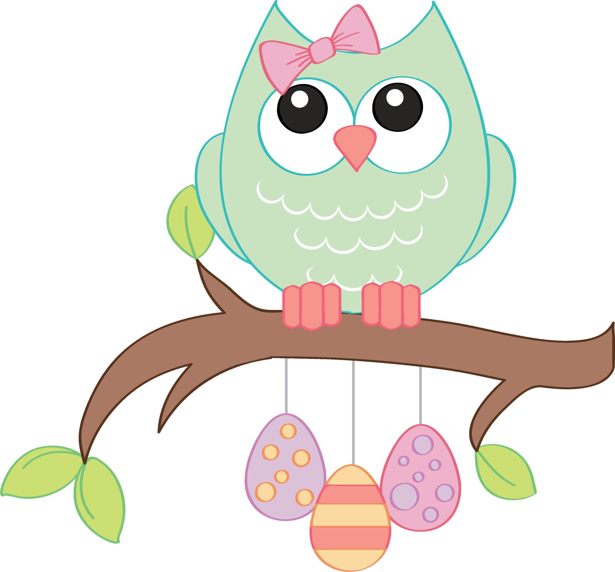 cute owl clip art - HD1993×1852