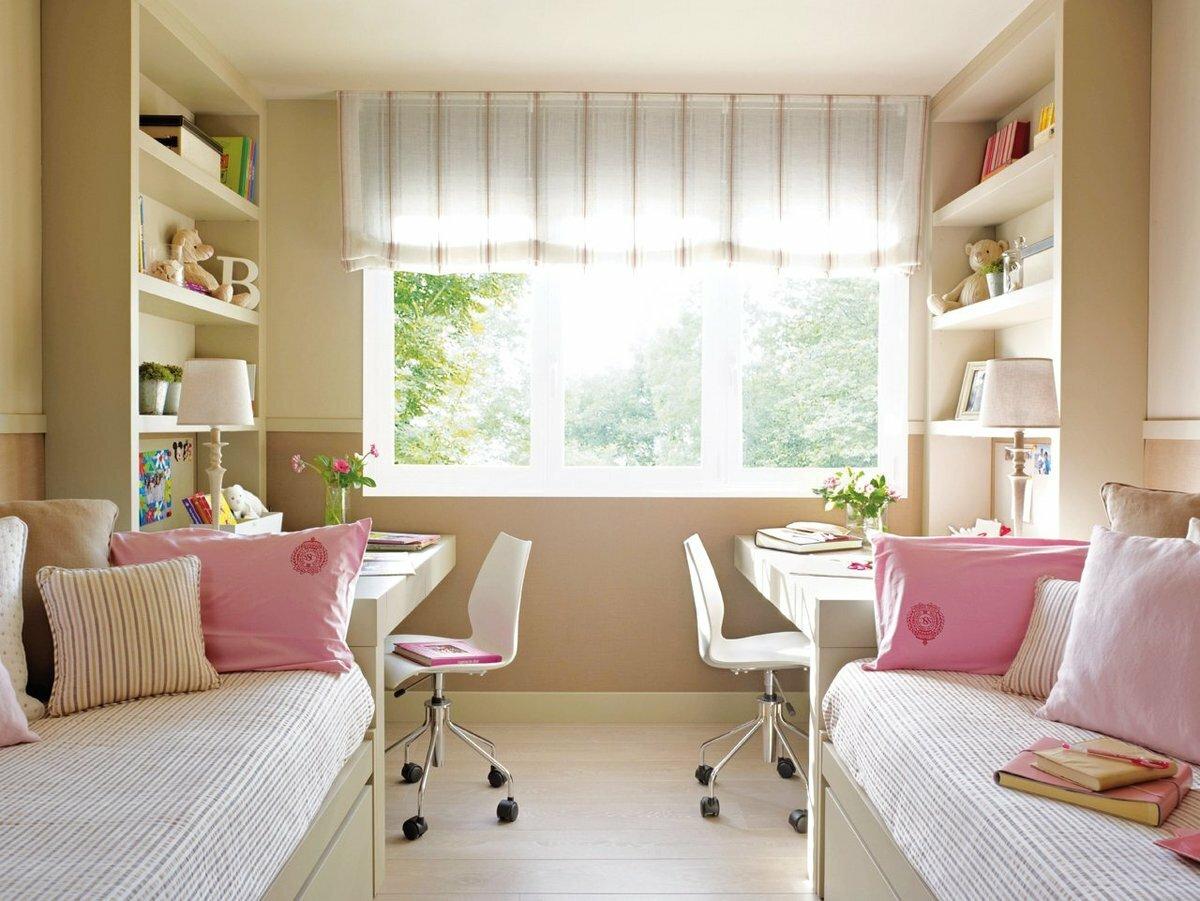 Комнаты для двух девочек подростков картинки