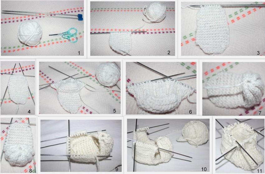 жилин вязание спицы пинетки фото схемы столь