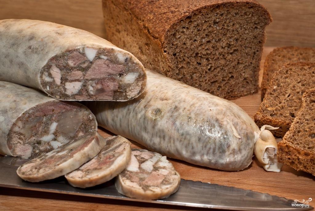 сальтисон из свиных субпродуктов с фото ногтевых пластин