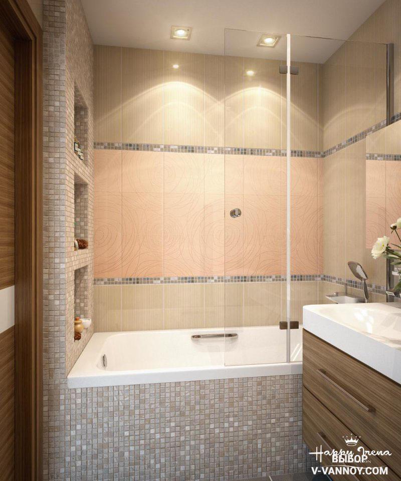 дизайн фото ванной комнаты маленькой