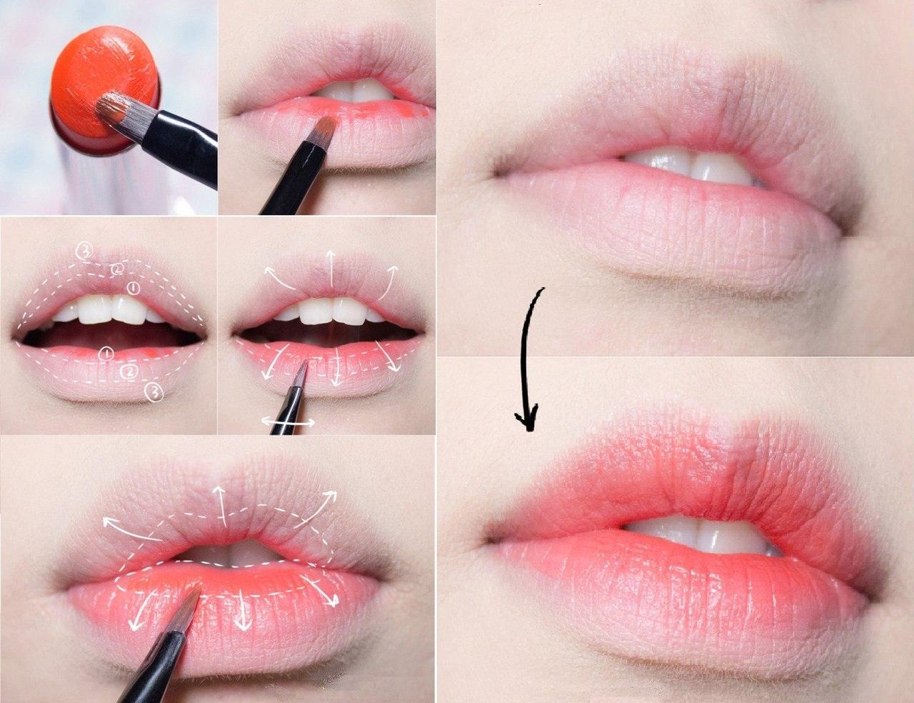 мягко как красиво накрасить губы фото элитных изделий экзотической