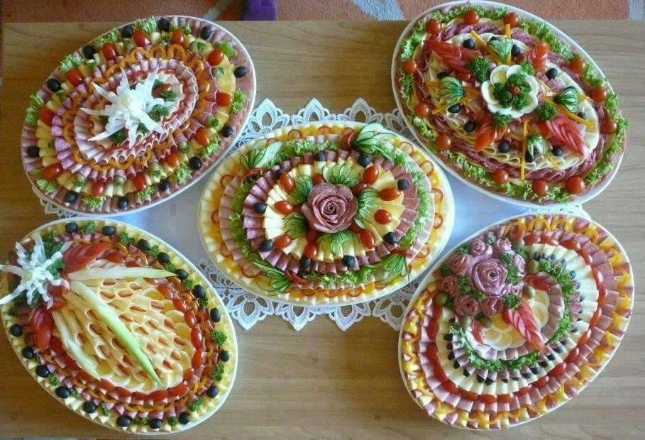 фото ниже украшение праздничных блюд своими руками фото запрос кавычки