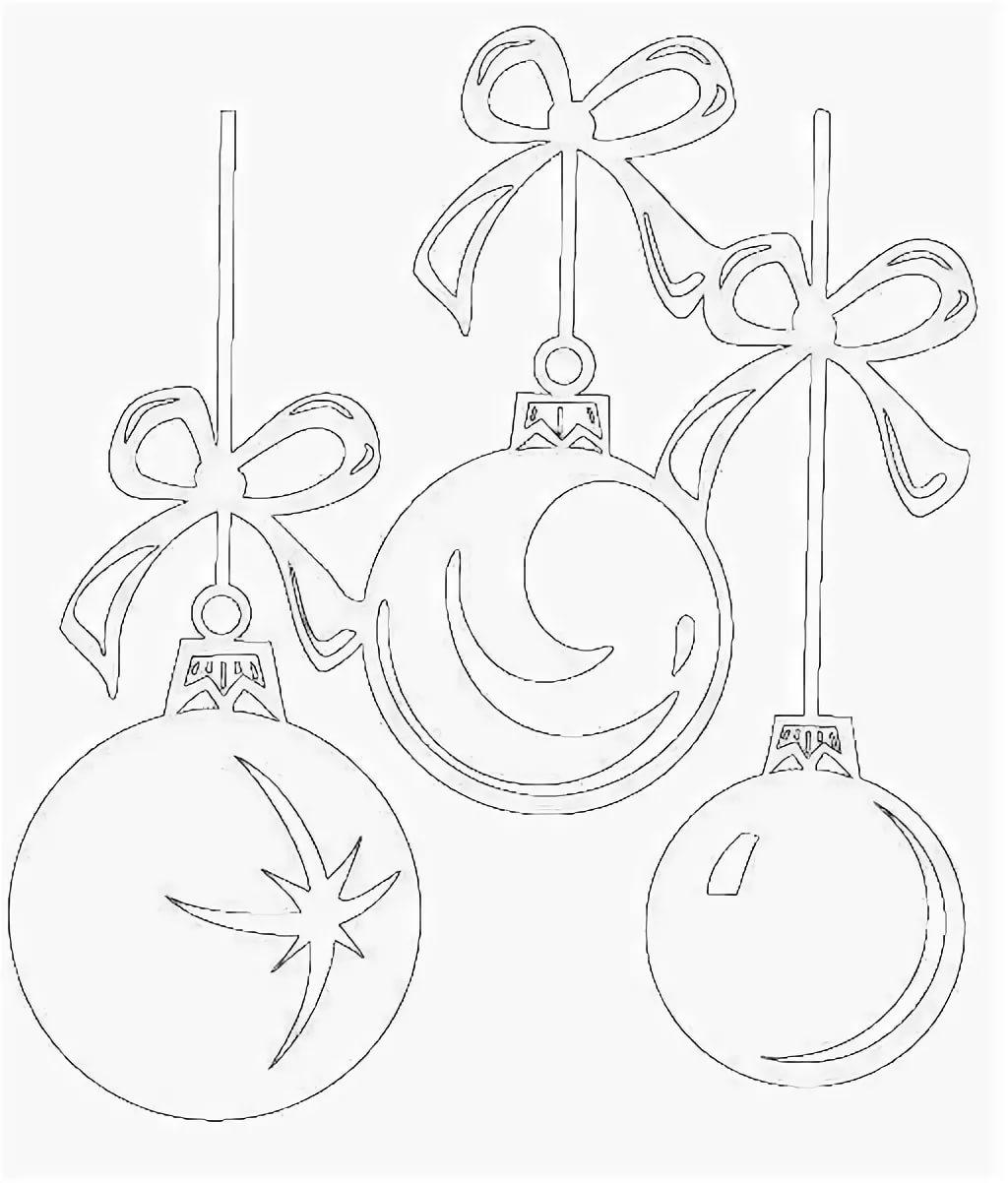 картинки шаров на новый год на окна пиджаки