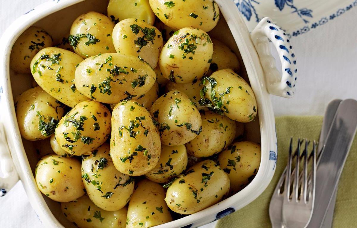 Картинка отварная картошка