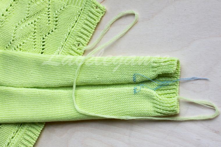 как правильно сшивать вязаные изделия сам себе волшебник вязание
