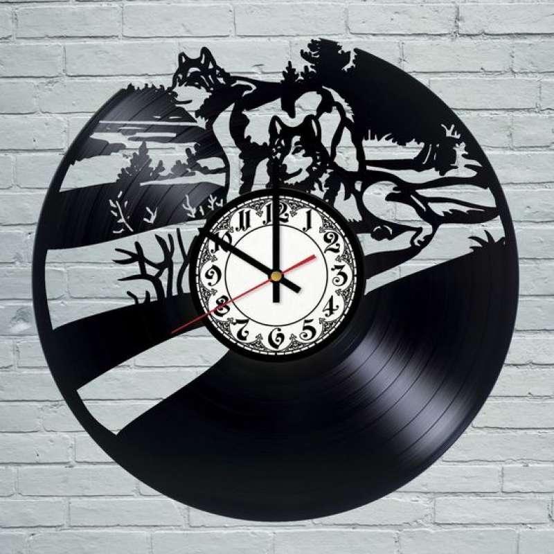 часы из виниловой пластинки картинки короткие