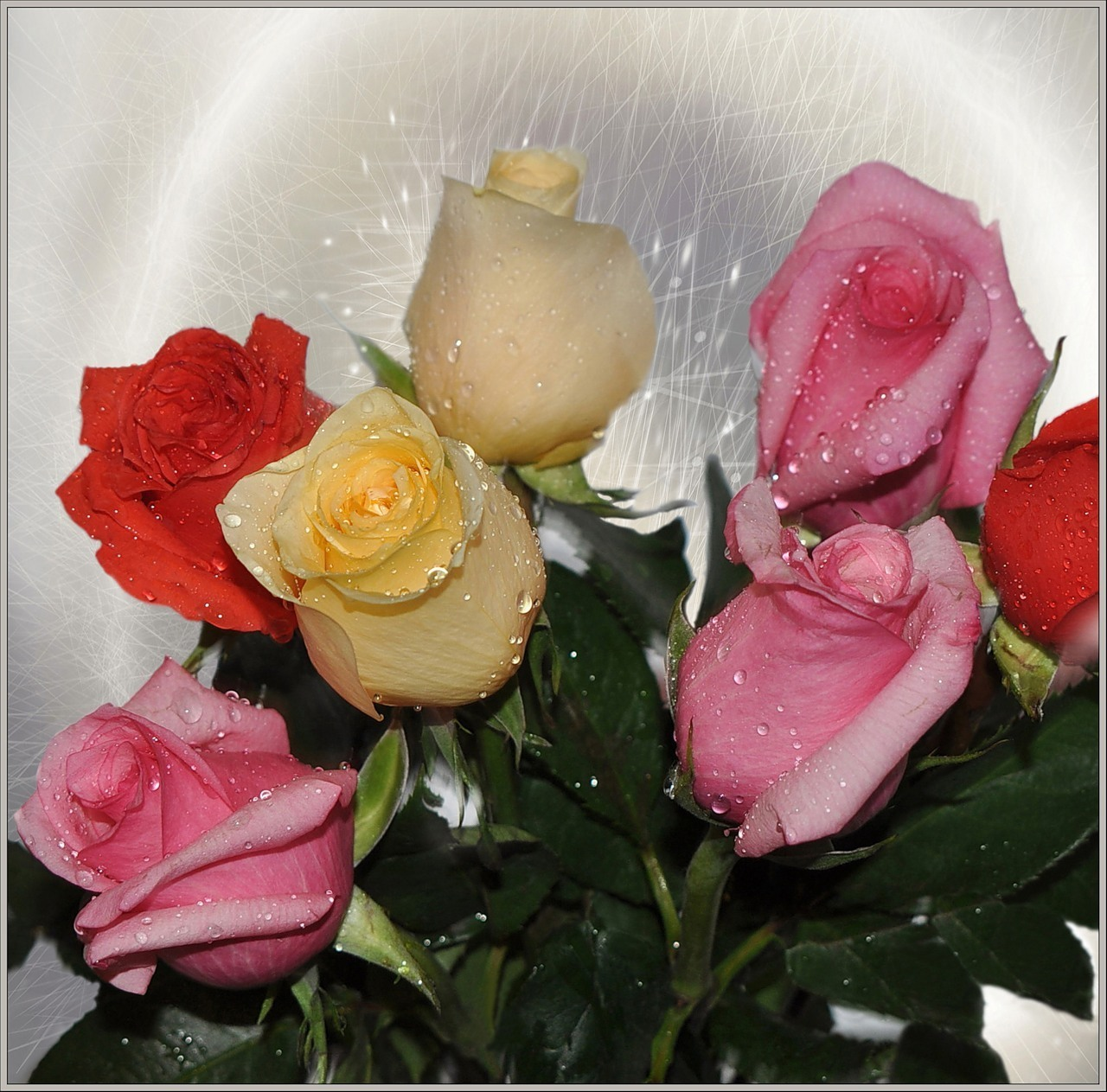 Красивые картинки с цветами друзьям