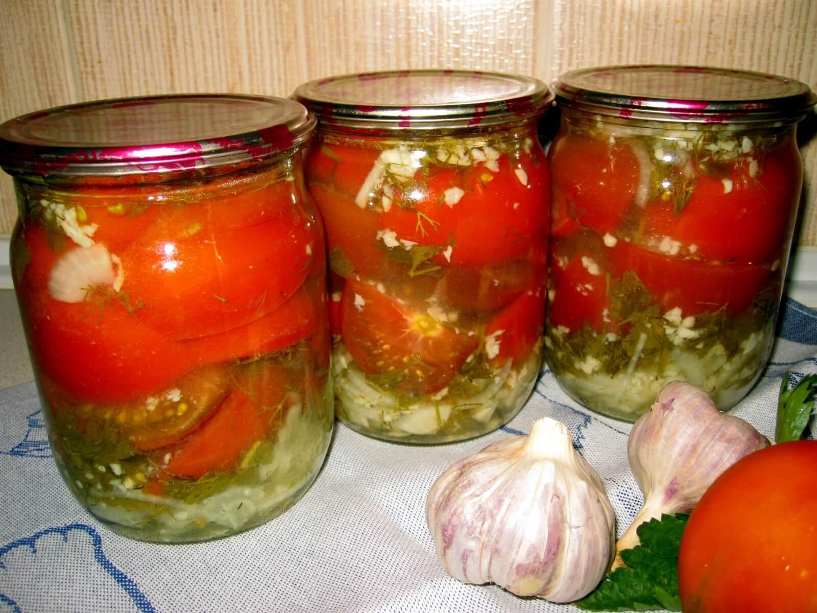 использовались помидоры по польски на зиму рецепт с фото производится