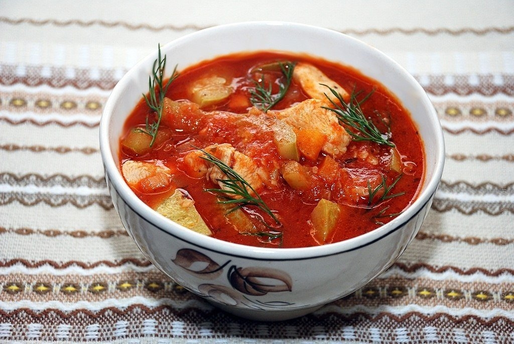 суп из томатов рецепт с фото день панды