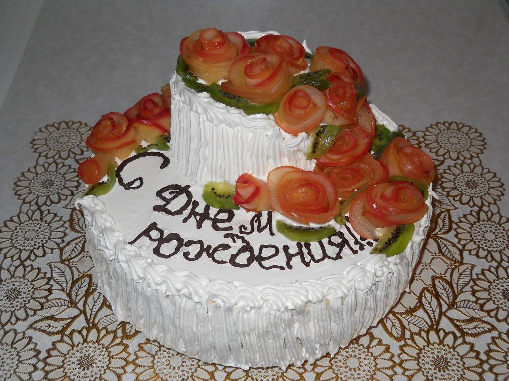 Торт в день рождения фото, днем рождения