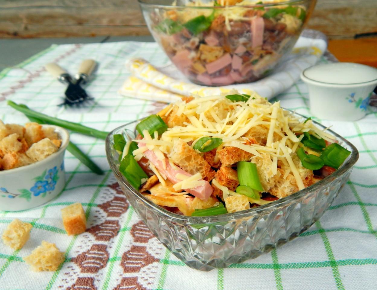 доставили салат жигули рецепт с фото под