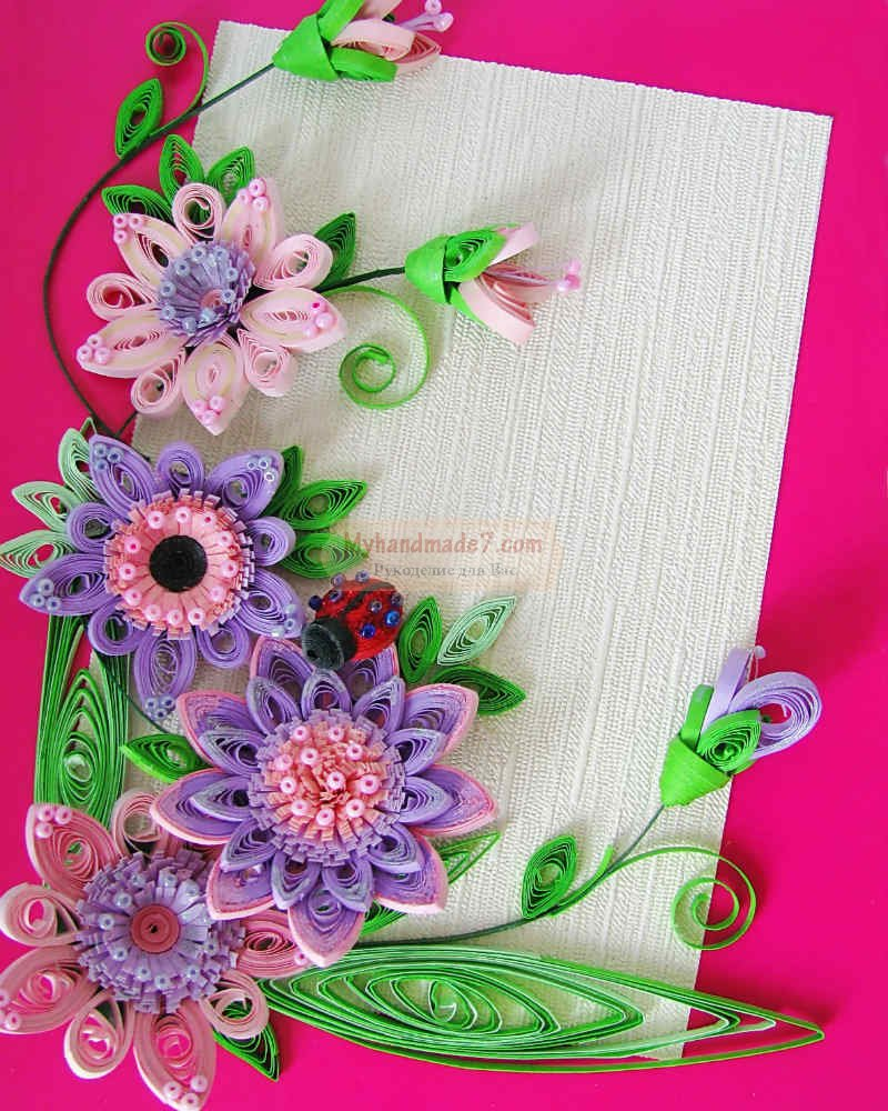 уже квиллинг букеты цветов с пошаговым фото чем
