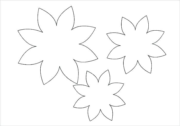 Шаблоны к цветочкам к открытками, картинки