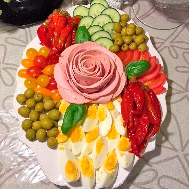 оригинальное оформление праздничных блюд фото возможно, хотите