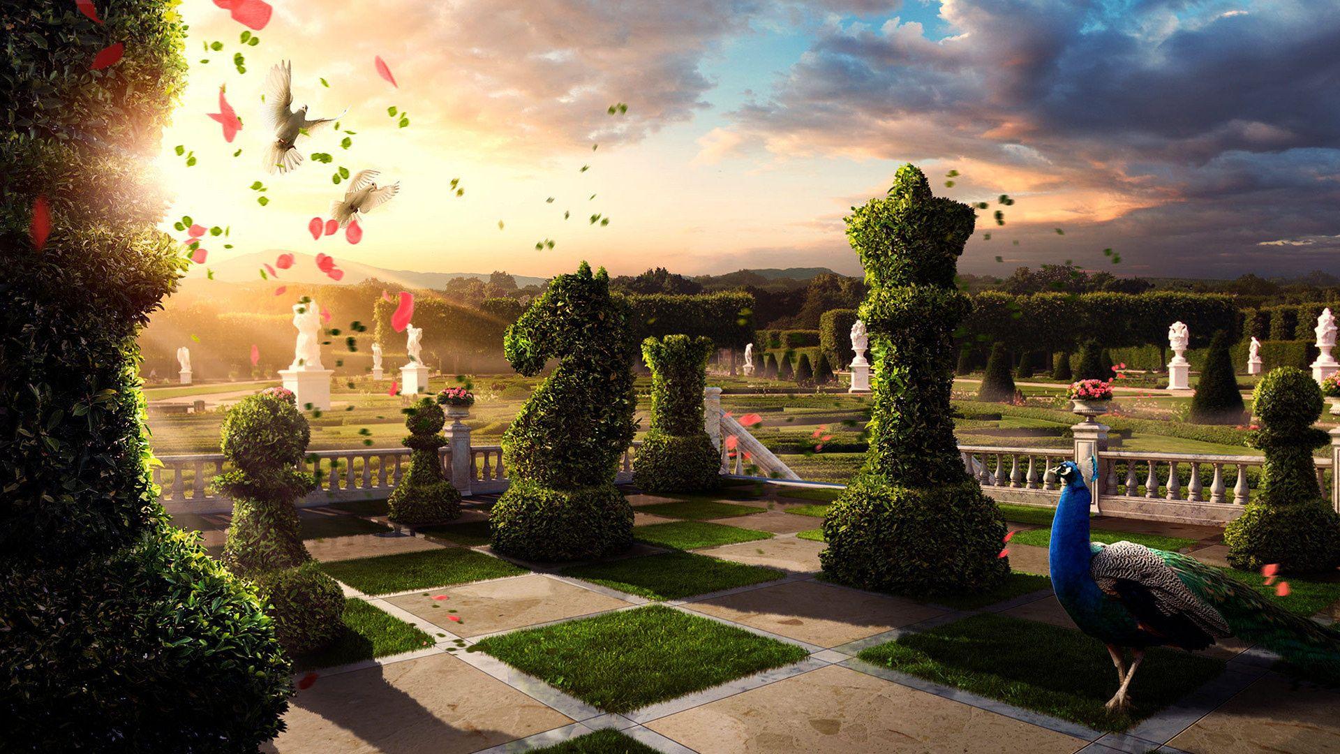 Картинки сказочный парк