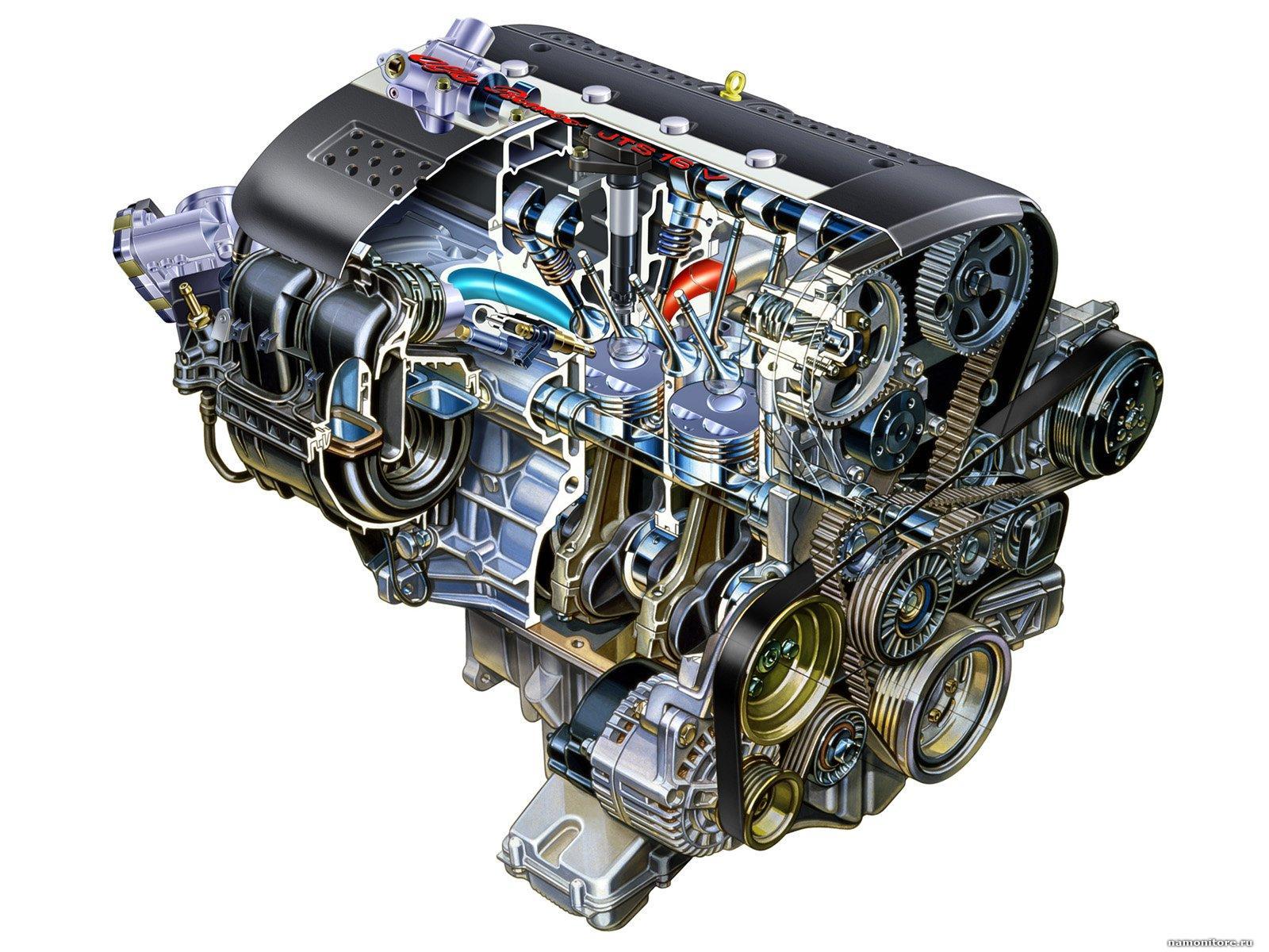 Картинка двигатель автомашины