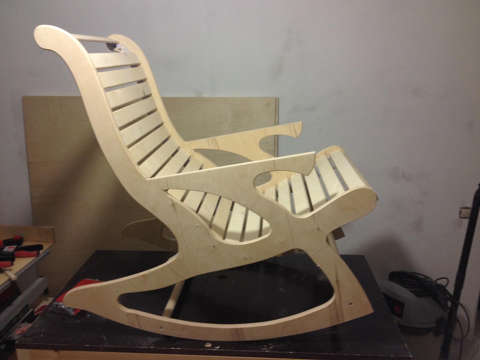 Кресло качалка своими руками в домашних условиях фото 796