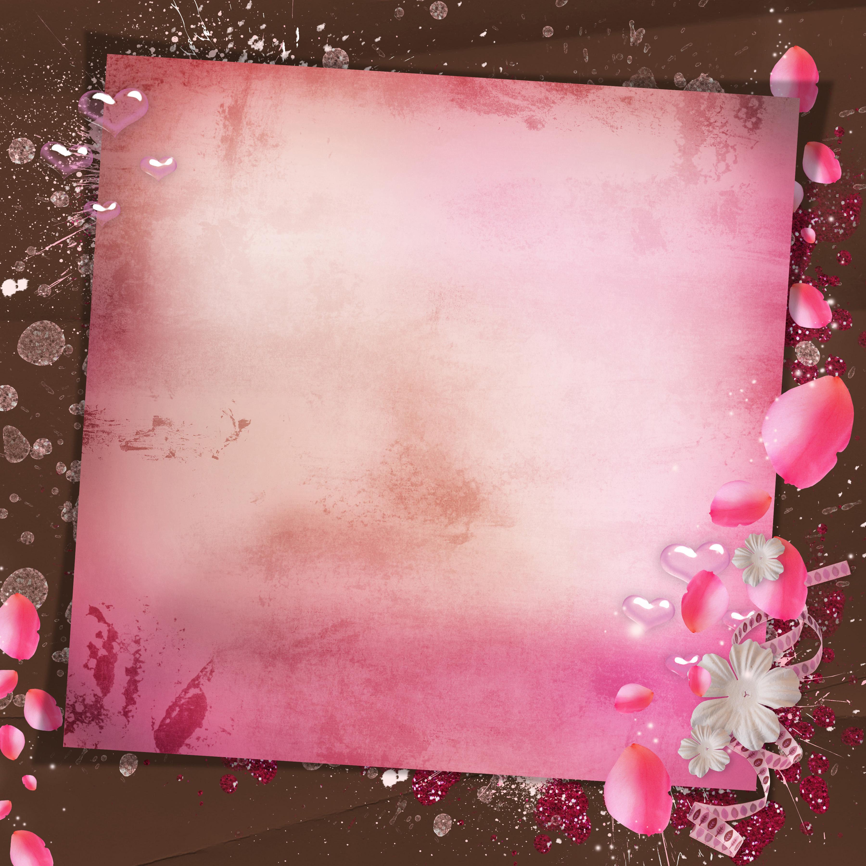 Нежно розовая картинка для фона