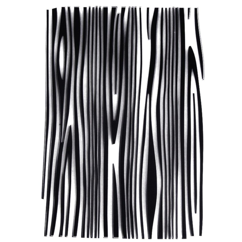 La Cabina Dies Scrapbooking Bricolage Album de Maison de Bricolage D/écoupage Carr/é Stencils Embossing Card Album de Scrapbooking