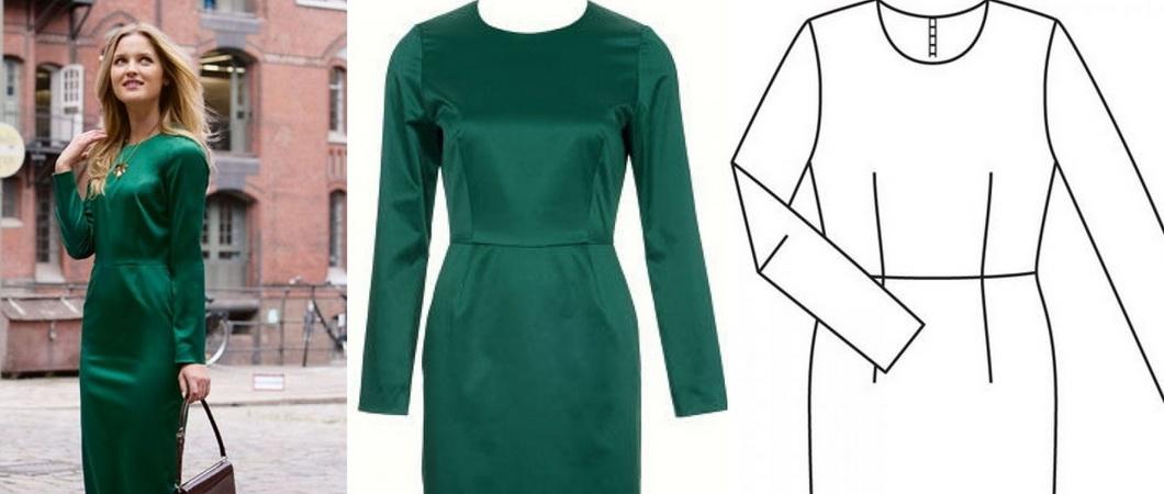 d32ade57087 Как сшить платье - футляр своими руками · zoom in