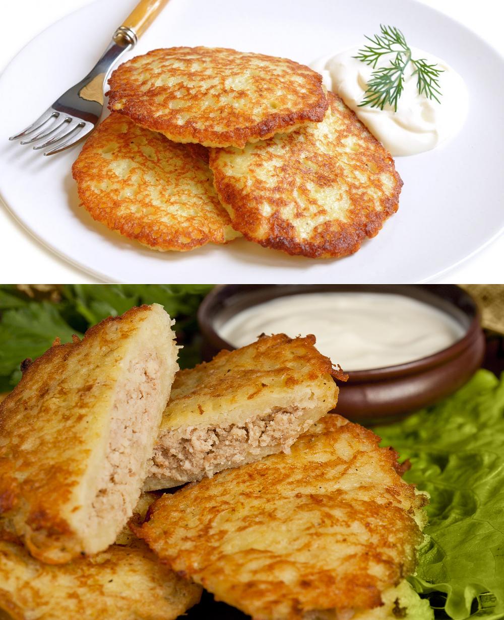 Как готовить картофельные драники рецепт с фото