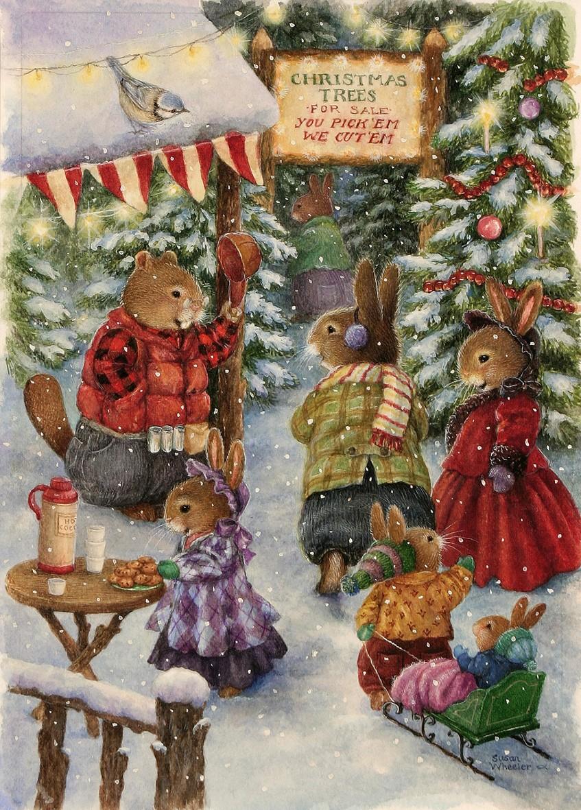 Новогодние картинки с надписью с крысой этой