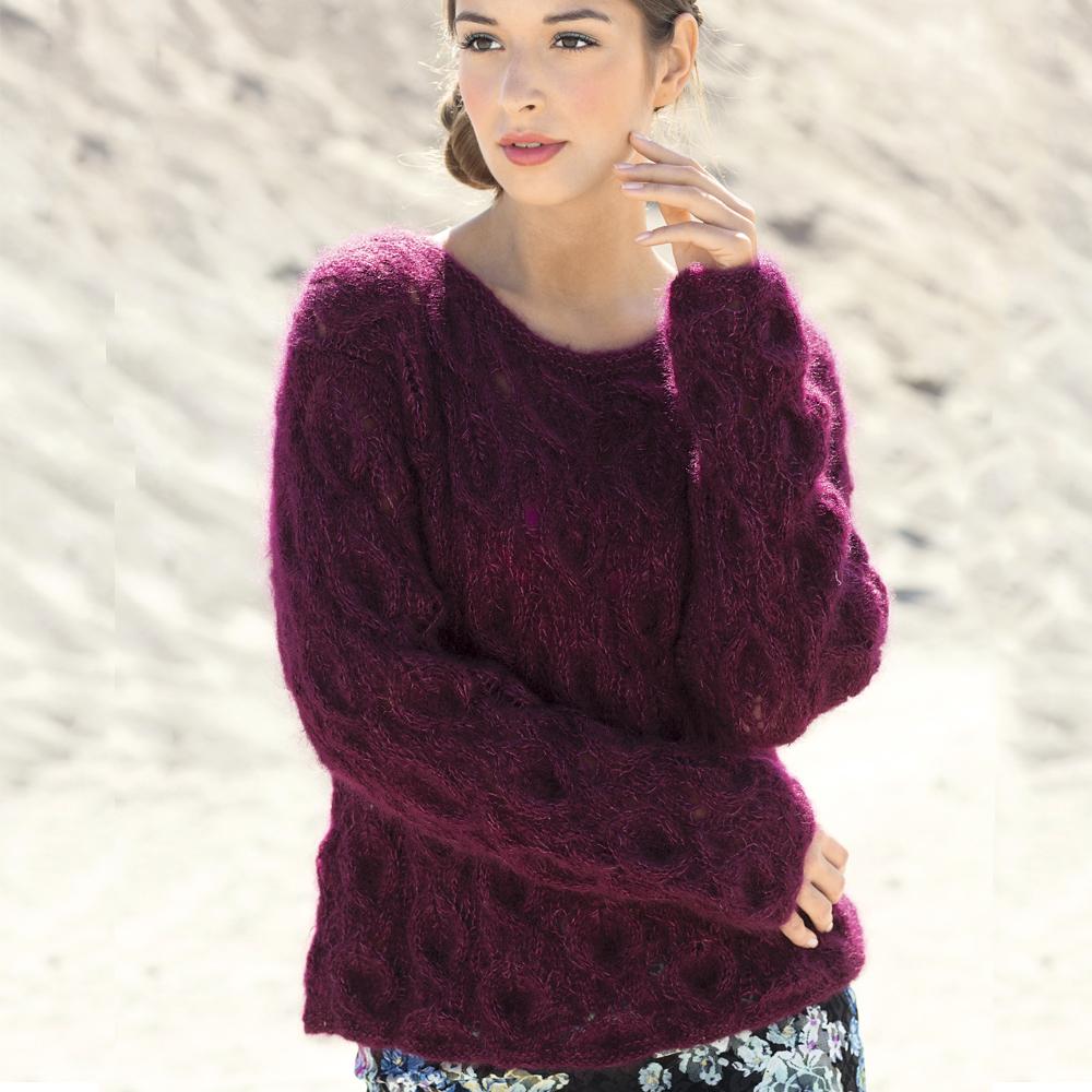 следует вязание пуловер из мохера фото практически отличаются