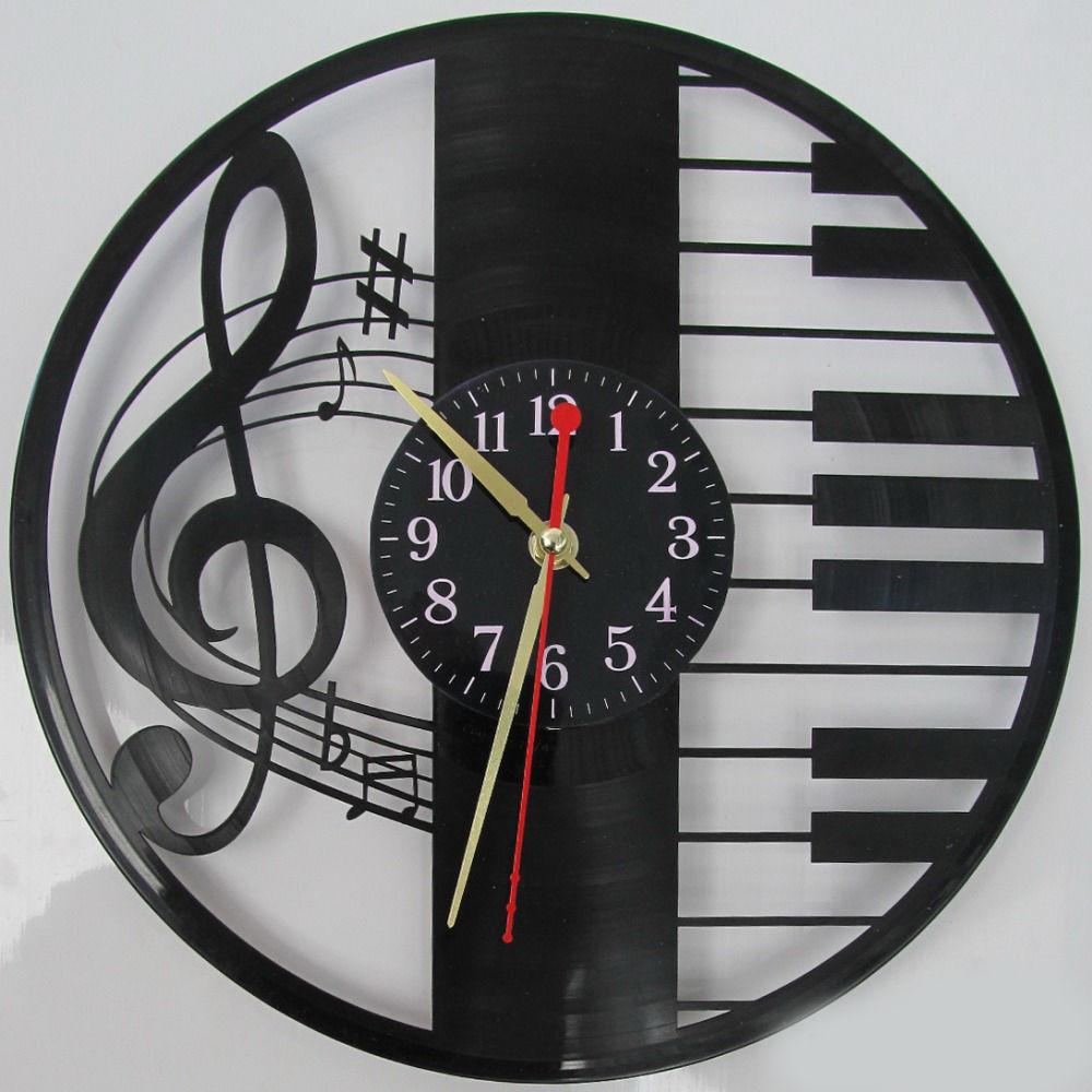 часы из виниловой пластинки картинки стильный офисный лук