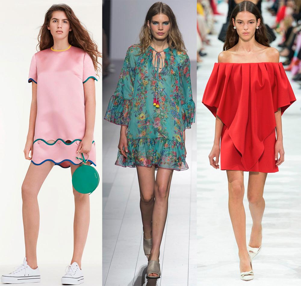2521507c07d9 Платья весна-лето 2018 – модные тенденции и новинки   мода   Постила
