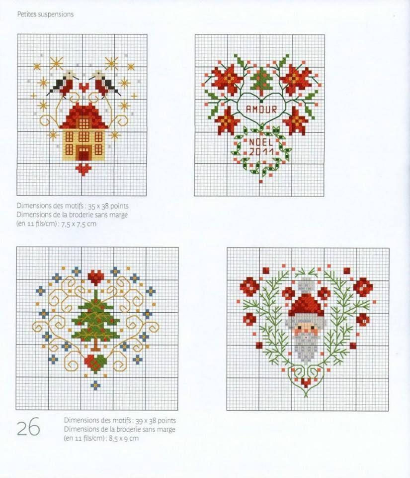 новогодние открытки вышитые крестиком схемы ждешь последнего