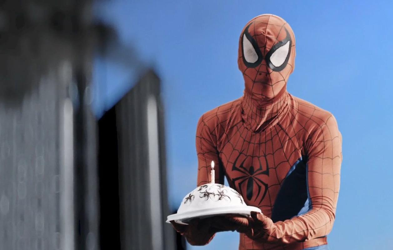 Поздравления человек паук